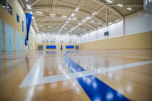 sports centre photography